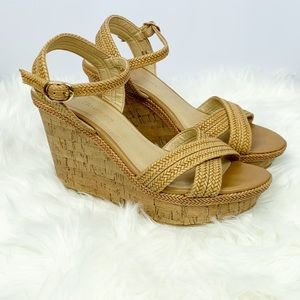 CL by Chinese Laundry Clara Braided Platform Wedge